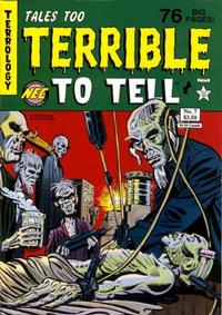 Cover Thumbnail for Tales Too Terrible to Tell (New England Comics, 1989 series) #7