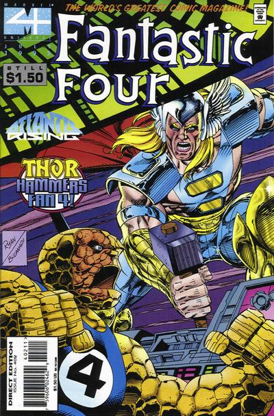Cover for Fantastic Four (Marvel, 1961 series) #402