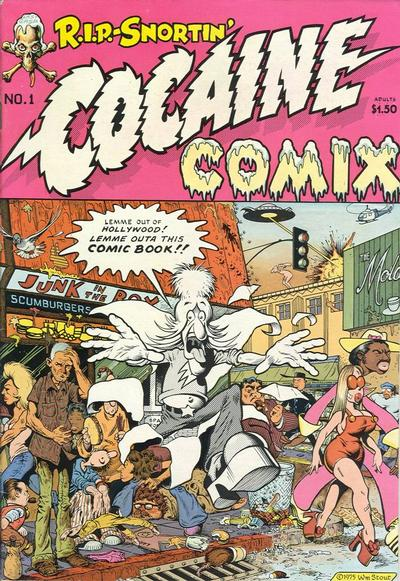 Cover for Cocaine Comix (Last Gasp, 1975 series) #1
