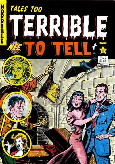 Cover for Tales Too Terrible to Tell (1989 series) #2