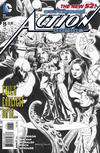 Cover for Action Comics (DC, 2011 series) #15 [Rags Morales Black and White Variant Cover]