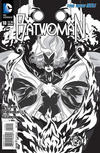 Cover for Batwoman (DC, 2011 series) #18 [Trevor McCarthy Black & White Cover]