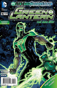 Cover Thumbnail for Green Lantern (DC, 2011 series) #16 [Combo Pack]