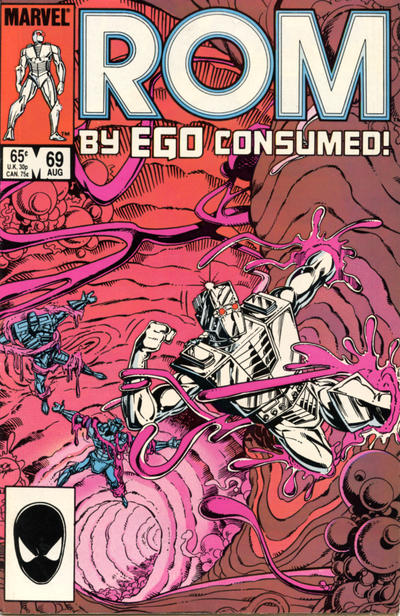 Cover for ROM (Marvel, 1979 series) #69 [Direct Edition]