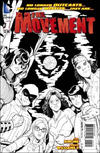 Cover Thumbnail for The Movement (2013 series) #1 [Amanda Conner Black & White Cover]