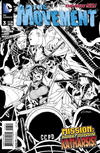Cover Thumbnail for The Movement (2013 series) #3 [Amanda Conner Black & White Cover]