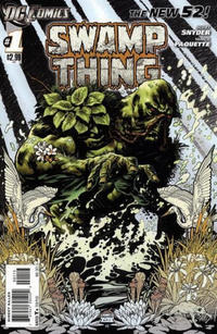 Cover Thumbnail for Swamp Thing (DC, 2011 series) #1 [3rd Printing - Grey Background]