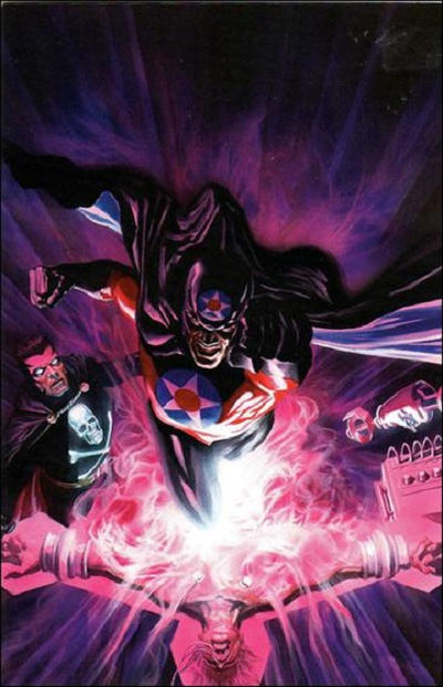 Cover for Black Terror (Dynamite Entertainment, 2008 series) #8 [Alex Ross Cover]