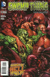 Cover for Swamp Thing (DC, 2011 series) #33