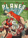 Cover for Planet Comics (Locker, 1951 series) #3