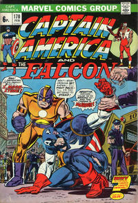 Cover for Captain America (Marvel, 1968 series) #170 [Regular Edition]