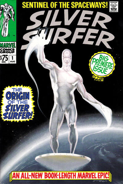 Cover for Silver Surfer Omnibus (Marvel, 2007 series) #1