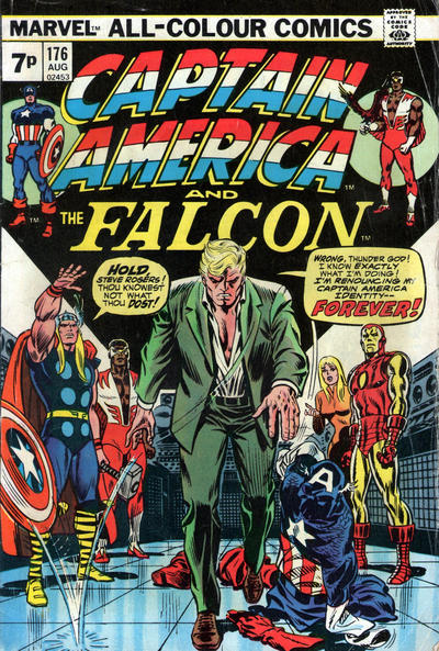 Cover for Captain America (Marvel, 1968 series) #176 [Regular Edition]