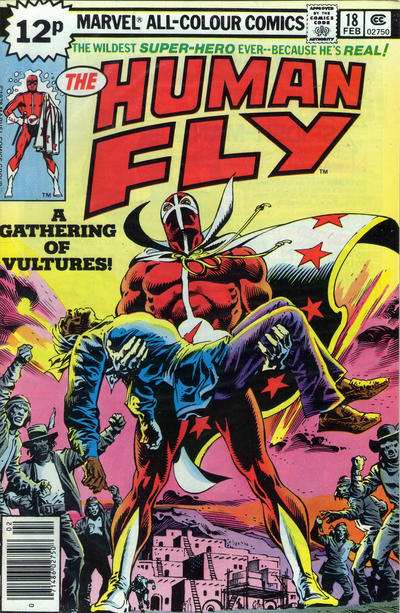 Cover for The Human Fly (Marvel, 1977 series) #18