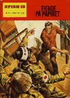 Cover for Spion 13 og John Steel (Serieforlaget / Se-Bladene / Stabenfeldt, 1963 series) #9/1966