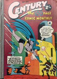 Cover Thumbnail for Century, The 100 Page Comic Monthly (K. G. Murray, 1956 series) #25