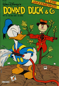 Cover Thumbnail for Donald Duck & Co (Hjemmet, 1948 series) #22/1989