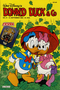 Cover Thumbnail for Donald Duck & Co (Hjemmet, 1948 series) #37/1989