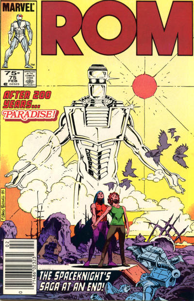 Cover for ROM (Marvel, 1979 series) #75 [Newsstand Edition]