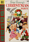 Cover for Bugs Bunny's Christmas Party (Dell, 1955 series) #6 [30¢ edition]