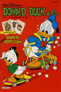 Cover Thumbnail for Donald Duck & Co (Hjemmet, 1948 series) #42/1989