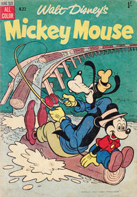 Cover Thumbnail for Walt Disney's Mickey Mouse (W. G. Publications; Wogan Publications, 1956 series) #22