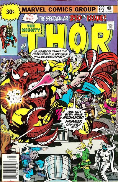 Cover for Thor (Marvel, 1966 series) #250 [30¢ Price Variant]