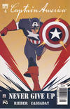 Cover Thumbnail for Captain America (2002 series) #4 [Newsstand Edition]