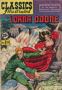 Cover Thumbnail for Classics Illustrated (Gilberton, 1947 series) #32 [HRN 53] - Lorna Doone