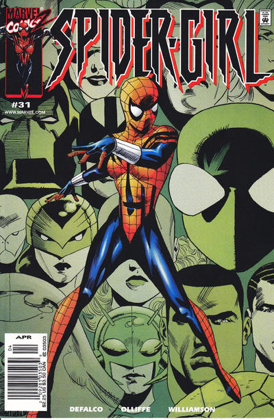 Cover for Spider-Girl (Marvel, 1998 series) #31