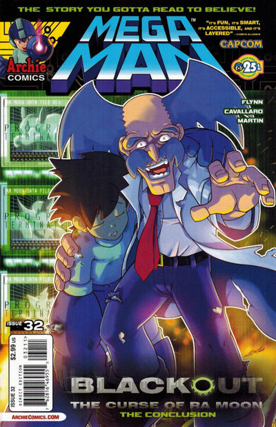 Cover for Mega Man (Archie, 2011 series) #32 [Variant Cover by Pow Ree]