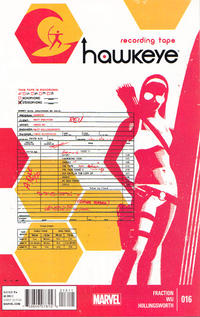 Cover Thumbnail for Hawkeye (Marvel, 2012 series) #16