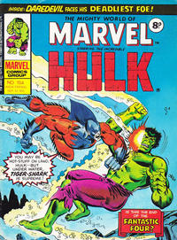 Cover Thumbnail for The Mighty World of Marvel (Marvel UK, 1972 series) #154