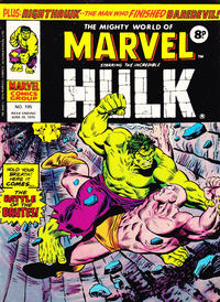 Cover Thumbnail for The Mighty World of Marvel (Marvel UK, 1972 series) #195