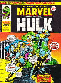 Cover Thumbnail for The Mighty World of Marvel (Marvel UK, 1972 series) #188