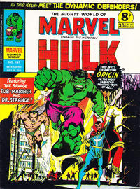 Cover Thumbnail for The Mighty World of Marvel (Marvel UK, 1972 series) #147