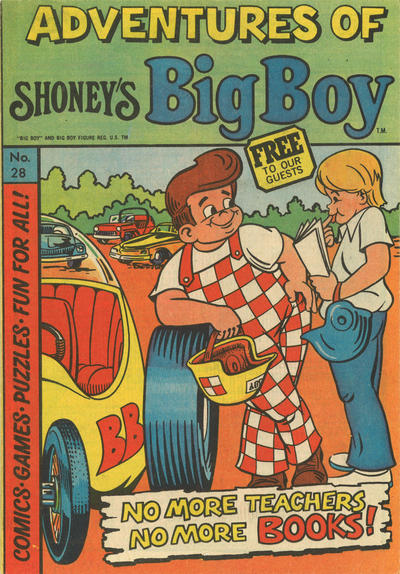 Cover for Adventures of Big Boy (Paragon Products, 1976 series) #28