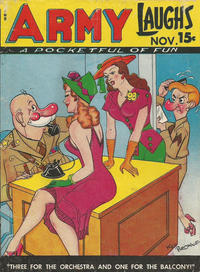 Cover Thumbnail for Army Laughs (Prize, 1941 series) #v7#8