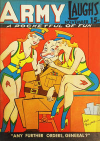 Cover Thumbnail for Army Laughs (Prize, 1941 series) #v1#9