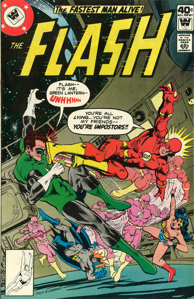 Cover for The Flash (DC, 1959 series) #276