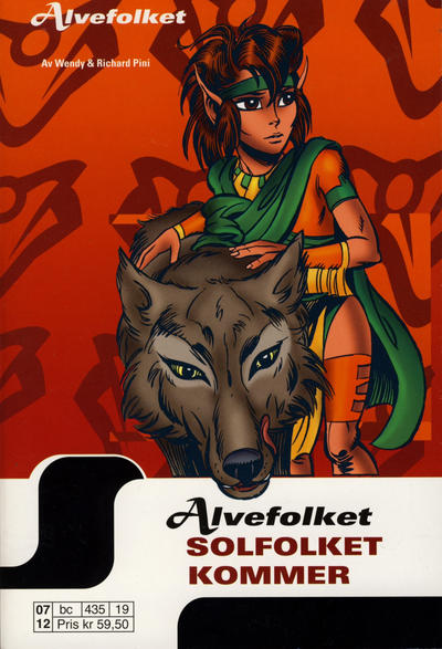 Cover for Alvefolket (Egmont Serieforlaget, 2005 series) #19