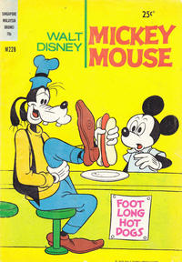 Cover Thumbnail for Walt Disney's Mickey Mouse (W. G. Publications; Wogan Publications, 1956 series) #228