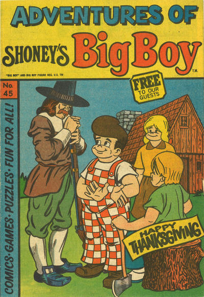 Cover for Adventures of Big Boy (Paragon Products, 1976 series) #45