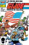 Cover for The G.I. Joe Order of Battle (Marvel, 1986 series) #1 [Direct Edition]