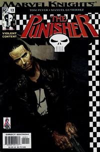 Cover Thumbnail for The Punisher (Marvel, 2001 series) #12