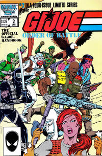 Cover Thumbnail for The G.I. Joe Order of Battle (Marvel, 1986 series) #2