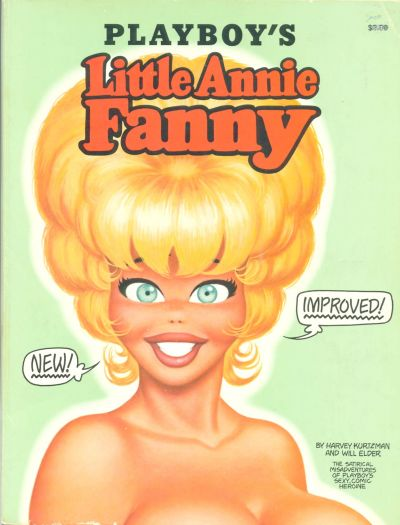 Cover for Playboy's Little Annie Fanny (Playboy Press, 1972 series)