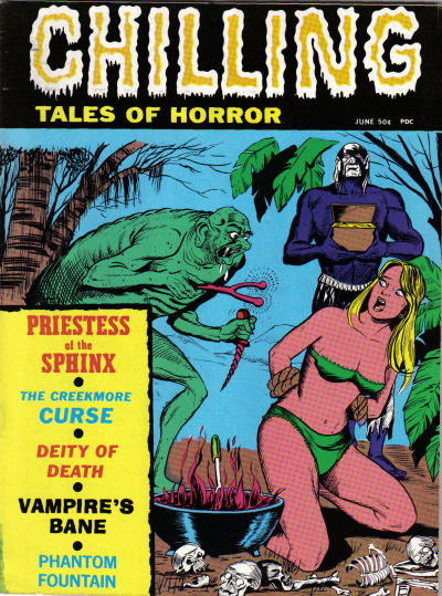 Cover for Chilling Tales of Horror (Stanley Morse, 1969 series) #v2#4 [3]
