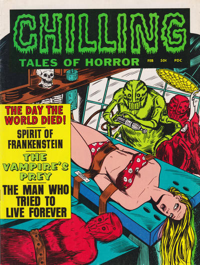 Cover for Chilling Tales of Horror (Stanley Morse, 1969 series) #v2#2 [1]