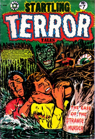Cover for Startling Terror Tales (Star Publications, 1953 series) #7